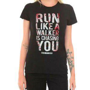 TWD Run Like A Walker Is Chasing You T-shirt